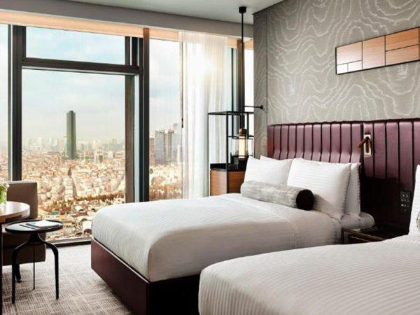 Hotel Fairmont Quasar Istanbul Fairmont Gold Room