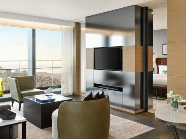 Hotel Fairmont Quasar Istanbul Fairmont Grand Suite