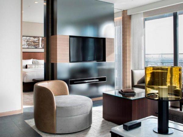 Hotel Fairmont Quasar Istanbul Fairmont Quasar One Bedroom Suite