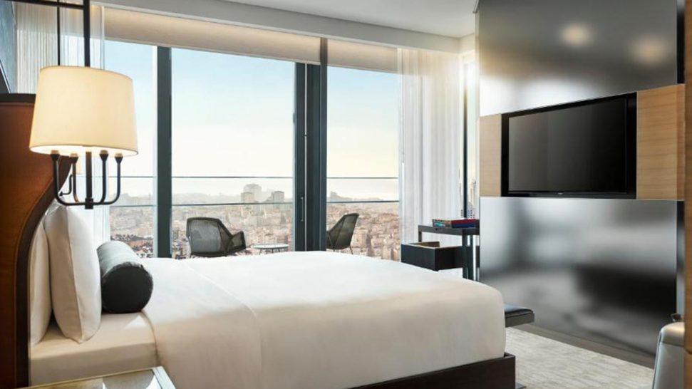Hotel Fairmont Quasar Istanbul Fairmont Signature Terrace Suite