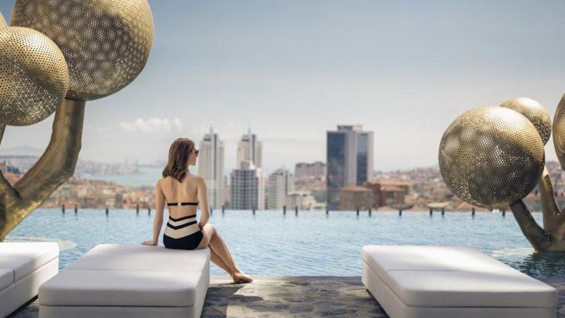 Hotel Fairmont Quasar Istanbul Hotel Pool View