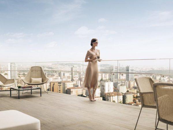 Hotel Fairmont Quasar Istanbul Lobby View
