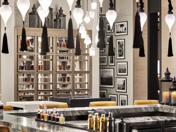 Hotel Fairmont Quasar Istanbul Marble Bar