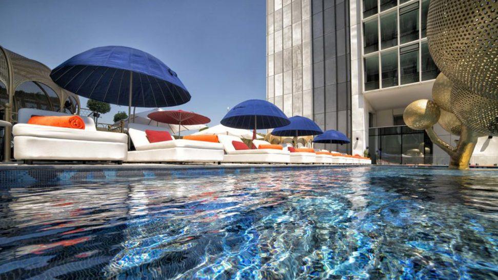 Hotel Fairmont Quasar Istanbul Pool View