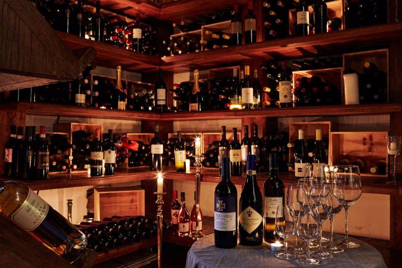 Hotel Lord Byron Wine Cellar