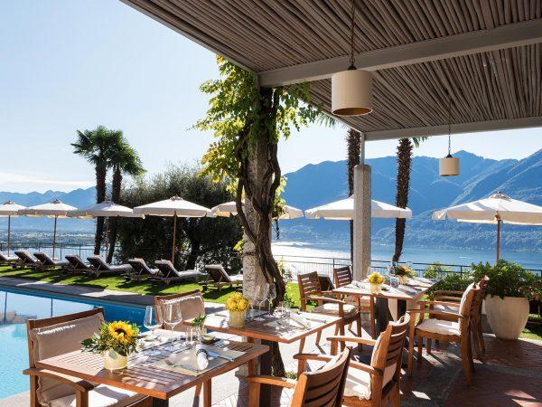 Hotel Villa Orselina La Pergola Restaurant