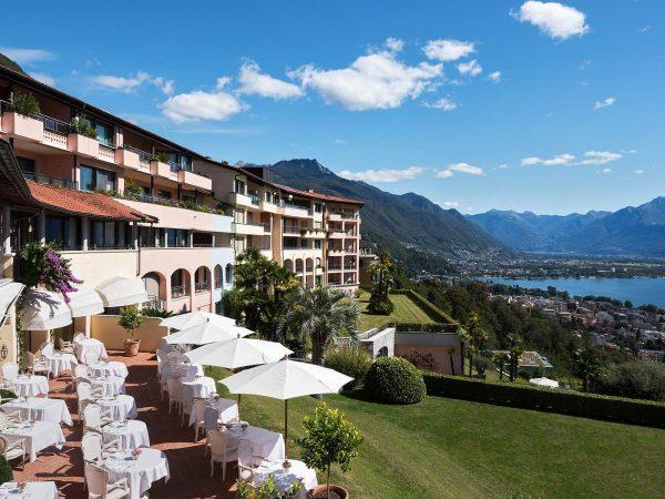 Hotel Villa Orselina Lobby View