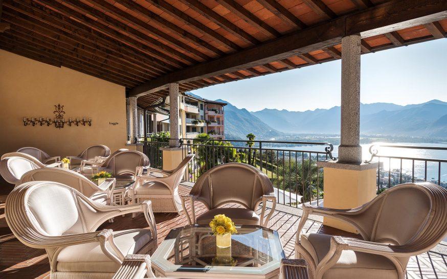 Hotel Villa Orselina Panorama Lounge & Bar
