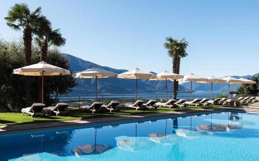 Hotel Villa Orselina Pool