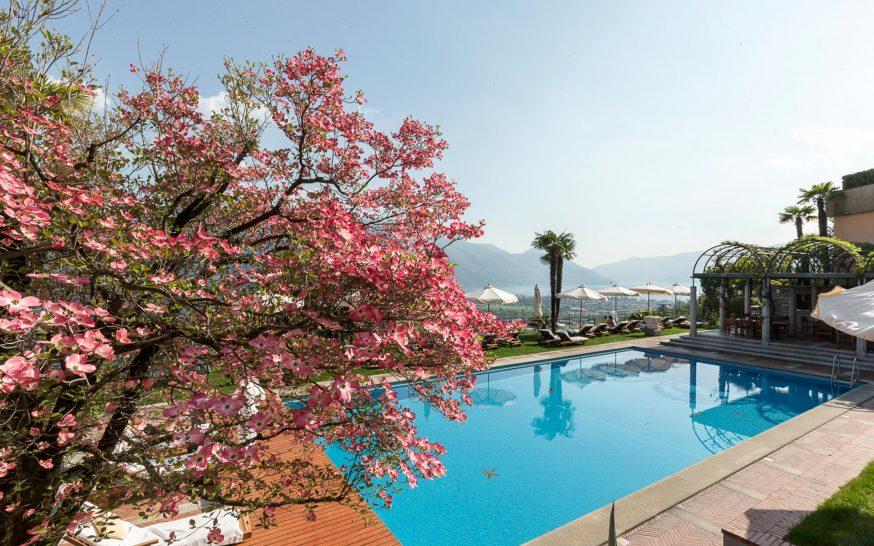 Hotel Villa Orselina Pool View