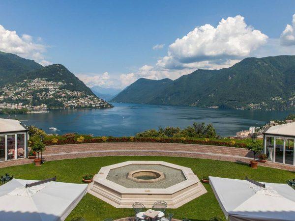 Hotel Villa Principe Leopoldo and Spa Garden View