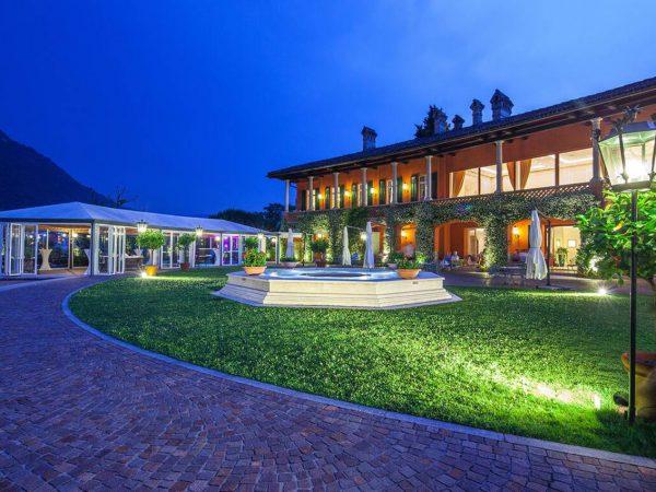 Hotel Villa Principe Leopoldo and Spa Lobby