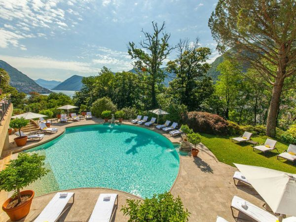 Hotel Villa Principe Leopoldo and Spa Outdoor Pool