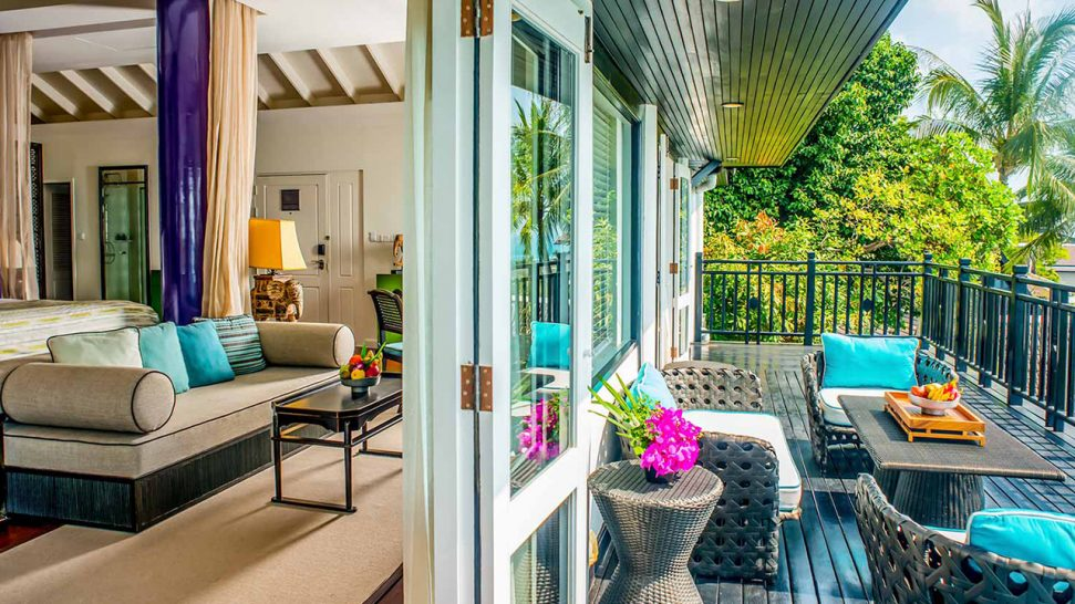 InterContinental Koh Samui Resort Club Ocean View Terrace Suite
