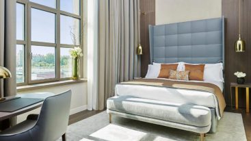 InterContinental Lyon Hotel Dieu Executive King Room with River View