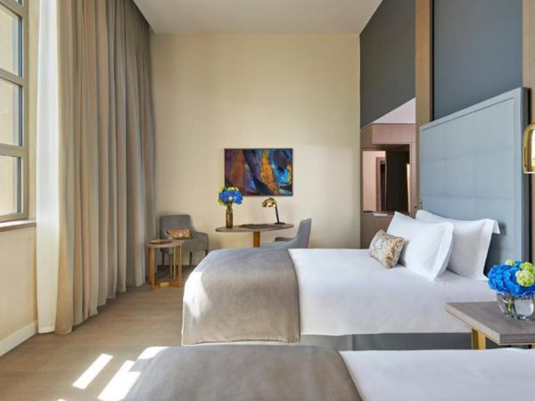 InterContinental Lyon Hotel Dieu Executive Twin Room with River View