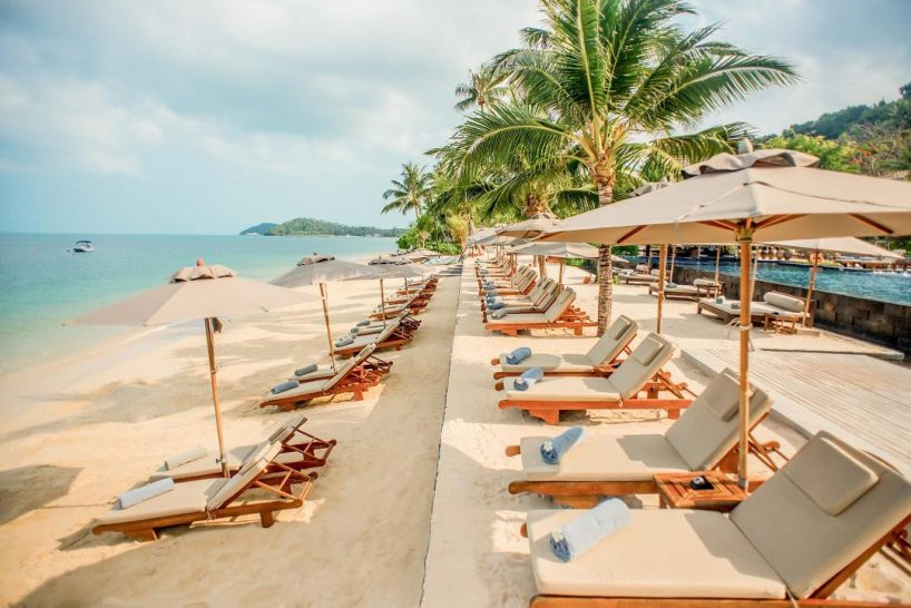Intercontinental Koh Samui Resort Beach