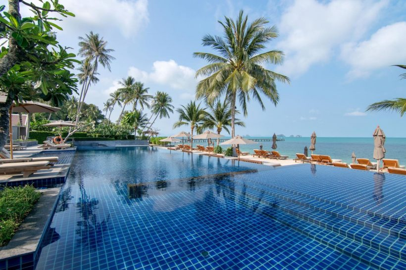 Intercontinental Koh Samui Resort Pool