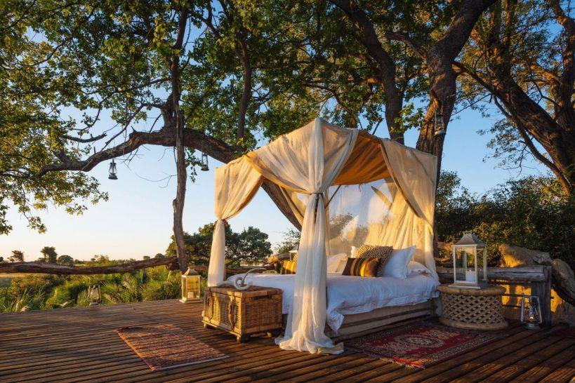 Jao Camp Okavango Delta Star Bed