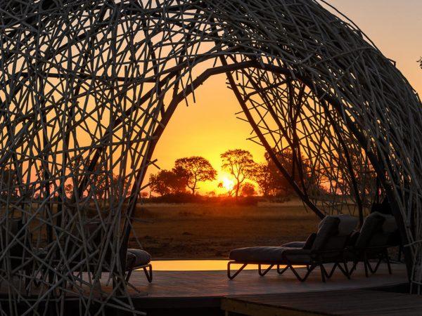 Jao Camp Sunset Deck