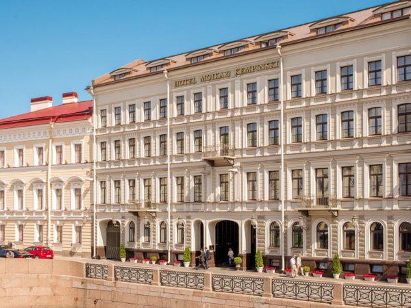 Kempinski Hotel Moika 22 St Petersburg Exterior View