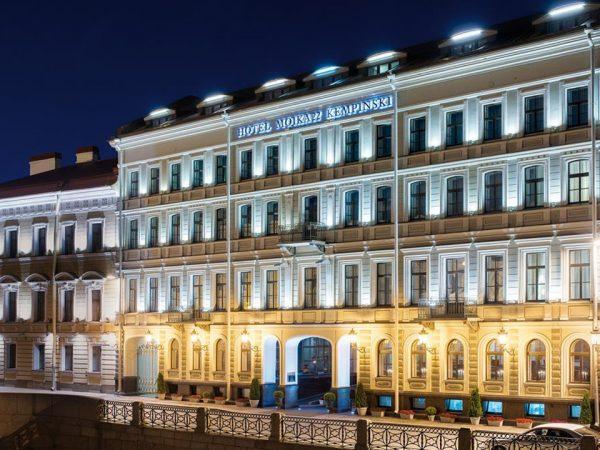 Kempinski Hotel Moika 22 St Petersburg Night View