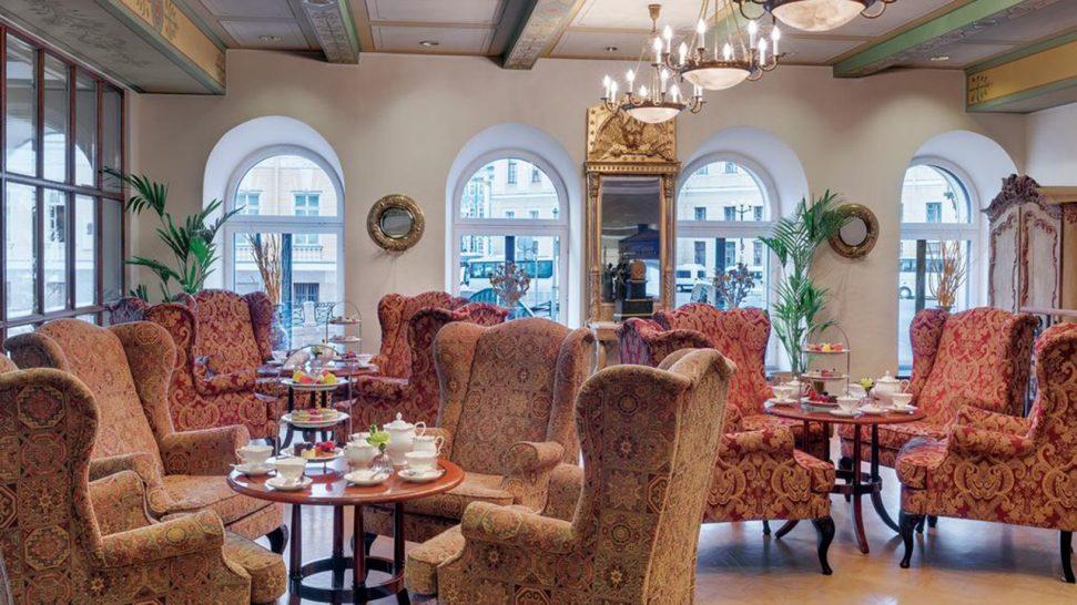 Kempinski Hotel Moika 22 St Petersburg Tea Room