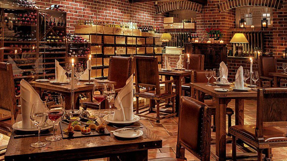 Kempinski Hotel Moika 22 St Petersburg Wine Cellar 1853