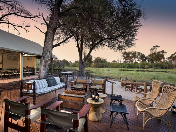 Khwai Tented Camp Dinners