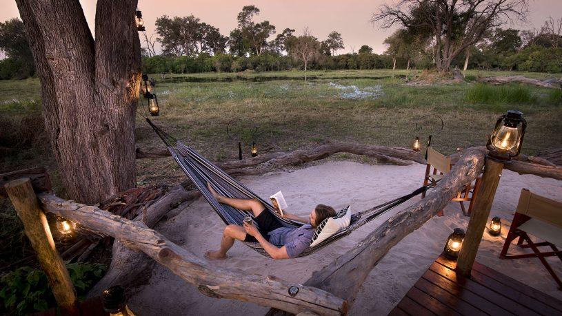 Khwai Tented Camp Moremi Relaxing
