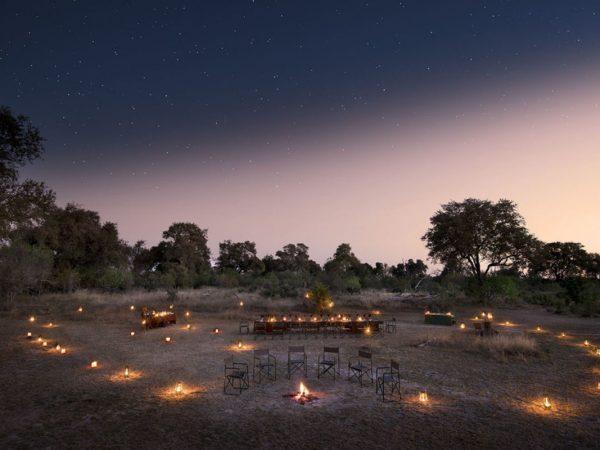 Khwai Tented Camp Night View
