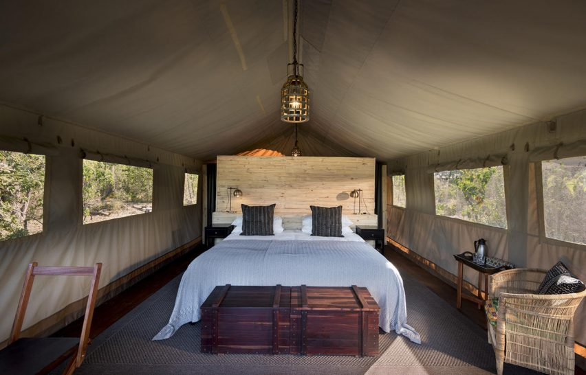 Khwai Tented Camp Standard Safari Tent
