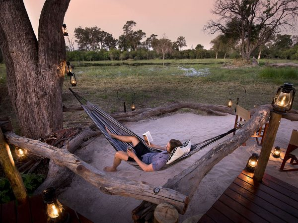 Khwai Tented Camp View