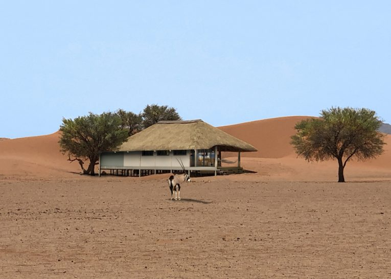Kwessi Dunes Namibia Bedroom Exterior