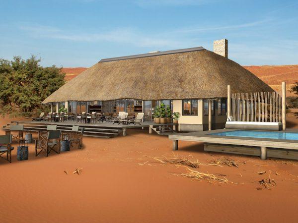 Kwessi Dunes Namibia Pool