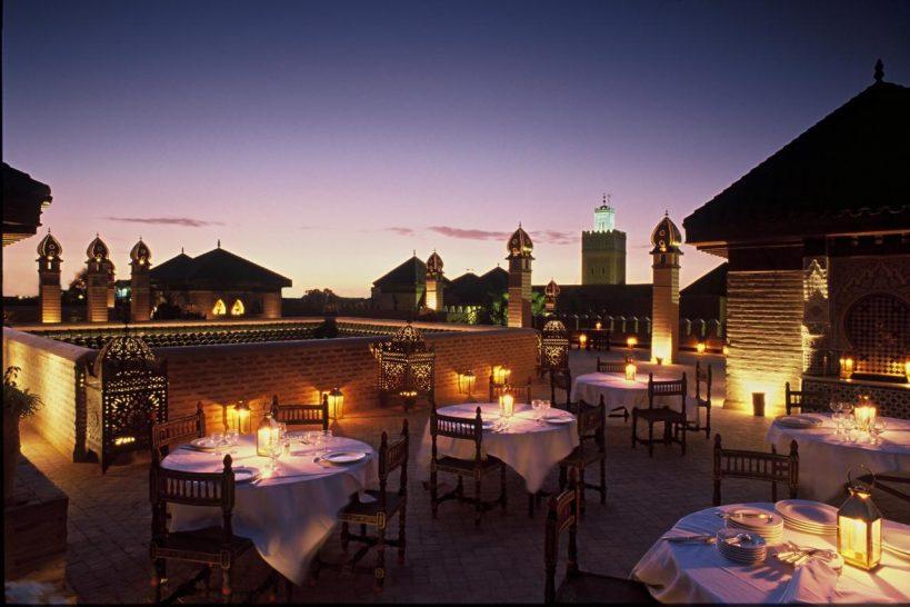 La Sultana Marrakech Rooftop Restaurant