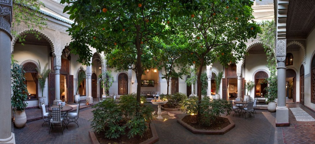 La Villa des Orangers Garden Dining