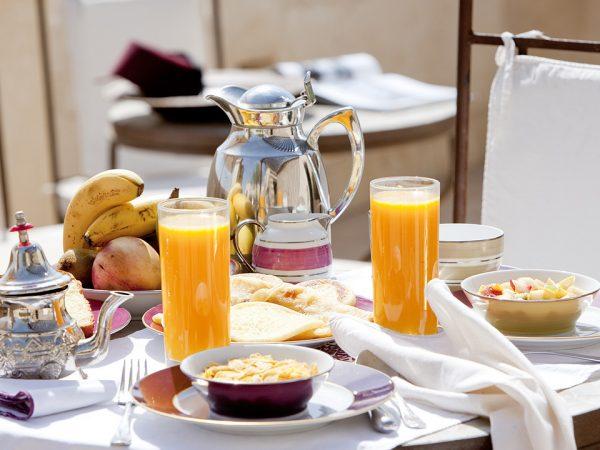 La Villa des Orangers, Marrakesh Breakfast