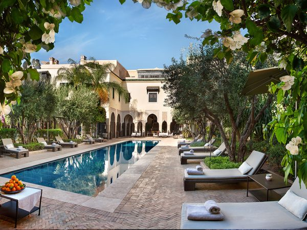 La Villa des Orangers, Marrakesh Hotel View