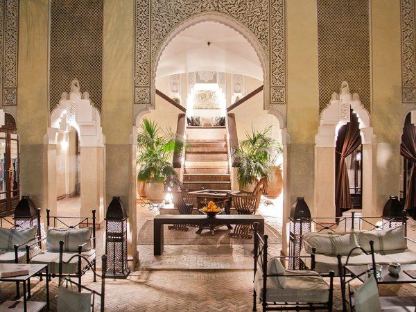 La Villa des Orangers, Marrakesh Lobby