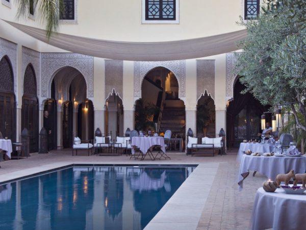 La Villa des Orangers, Marrakesh Lobby Pool
