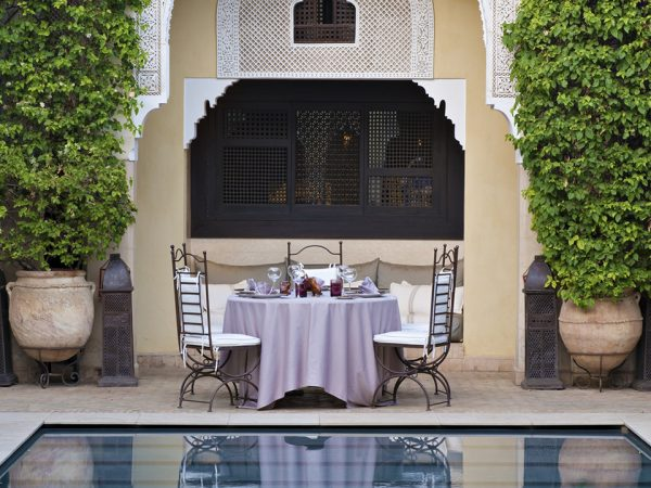 La Villa des Orangers, Marrakesh Lobby Pool View