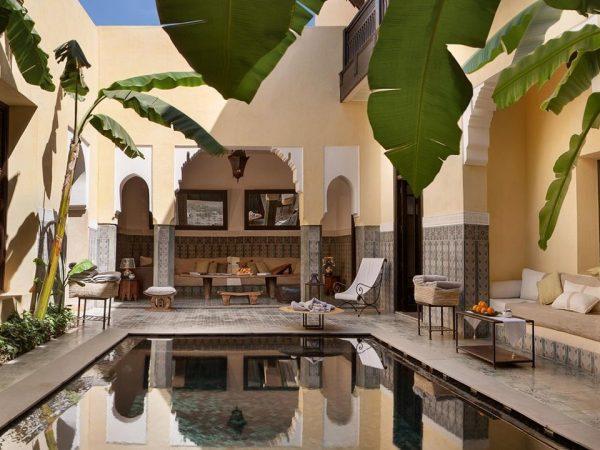 La Villa des Orangers, Marrakesh Lobby VIew