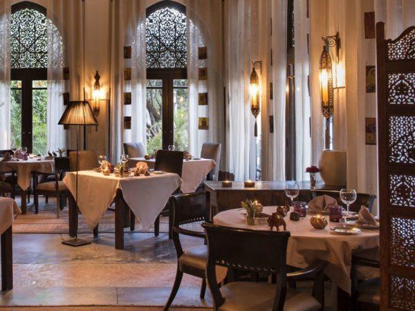 La Villa des Orangers, Marrakesh The Restaurant