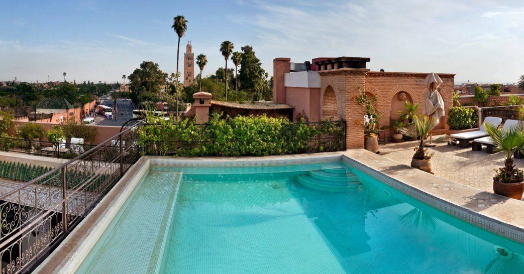La Villa des Orangers Rooftop Pool