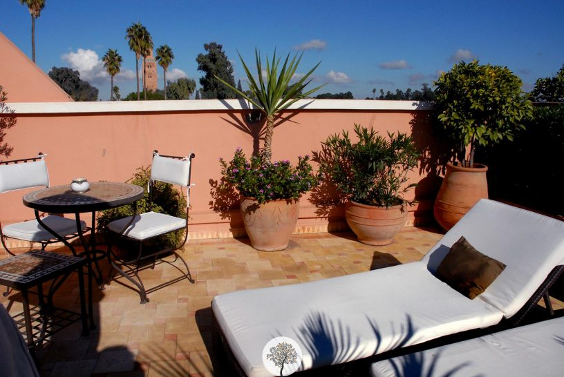 La Villa des Orangers Suite Terrace