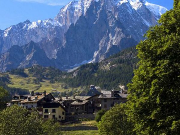 Le Massif Courmayeur Italy Mont Blanc in the Summer