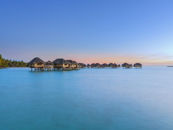 Le Tahaa Island Resort and Spa End of Pontoon Overwater Suite