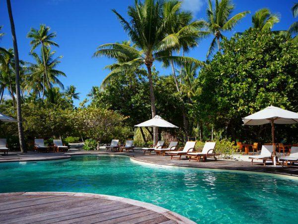 Le Tahaa Island Resort and Spa Hotel Pool