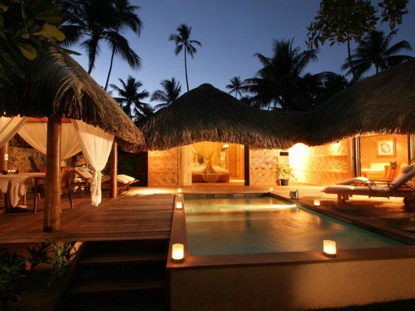 Le Tahaa Island Resort and Spa Lobby Pool